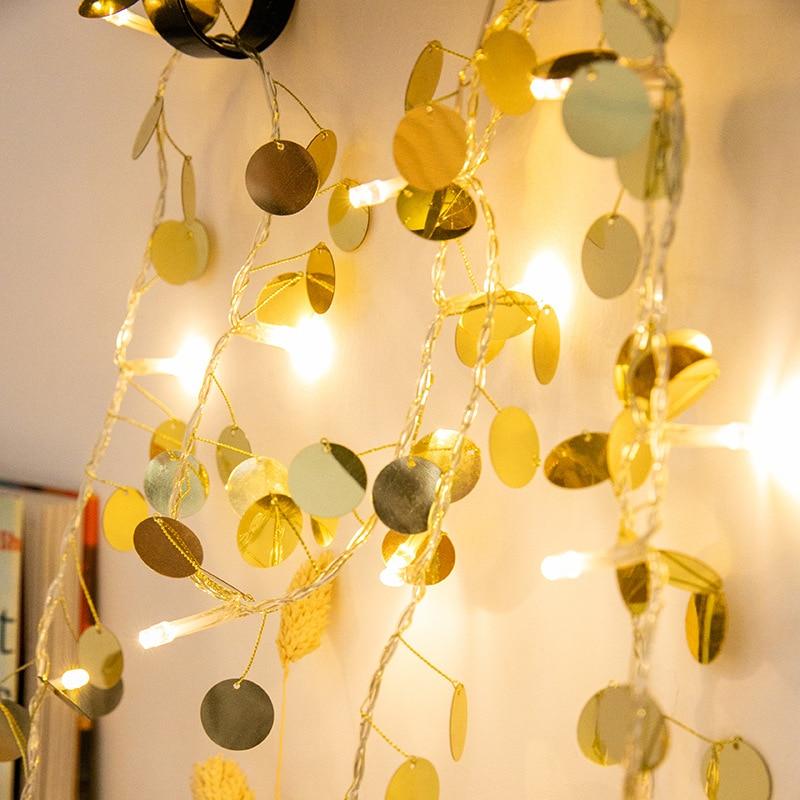 LED fairy lights string holiday led lights decoration battery power light string for Christmas wedding living room bedroom in LED String from Lights Lighting