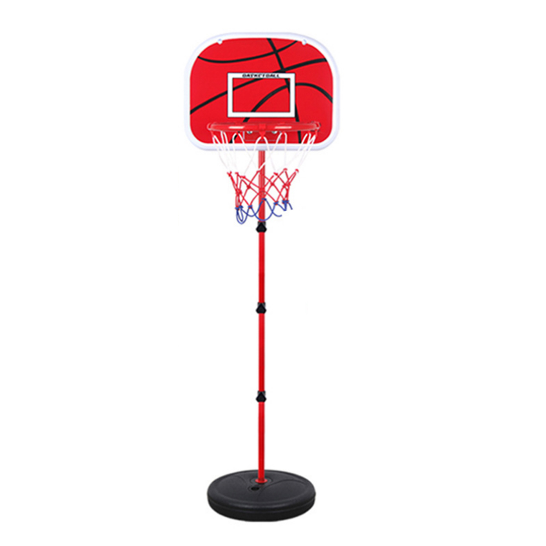 Adjustable Basketball Hoop >> 73 170CM Basketball Stands Height Adjustable Kids Basketball Goal Hoop Toy Set Basketball for ...