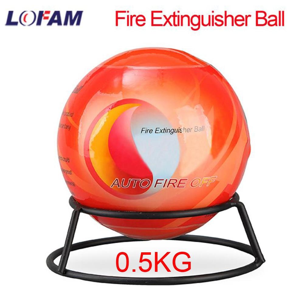 Огнетушитель мяч автоматическая машина для сухой порошок огнетушитель автомобильный для автомобилей дома пожаротушения устройства 0,5 кг с...