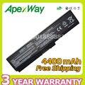 Apexway 4400 mah 10.8 v batería del ordenador portátil para toshiba pa3634u pa3634u-1brs pa3634u-1bas a660 satélite c650 l650 l670 m305 m500