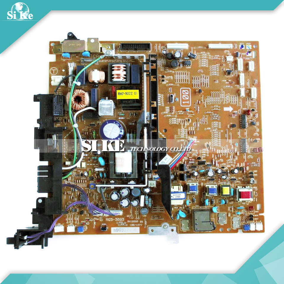 LaserJet  Engine Control Power Board For HP 4000 4050 RG5-3693 RG5-3694 HP4000 HP4050 Voltage Power Supply Board printer power supply board for hp 4000 4050 hp4000 hp4050 power board panel on sale
