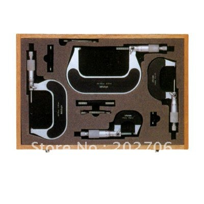 0 4inch Outside Micrometers in sets inch micrometer 0 1 1 2 2 3 3 4
