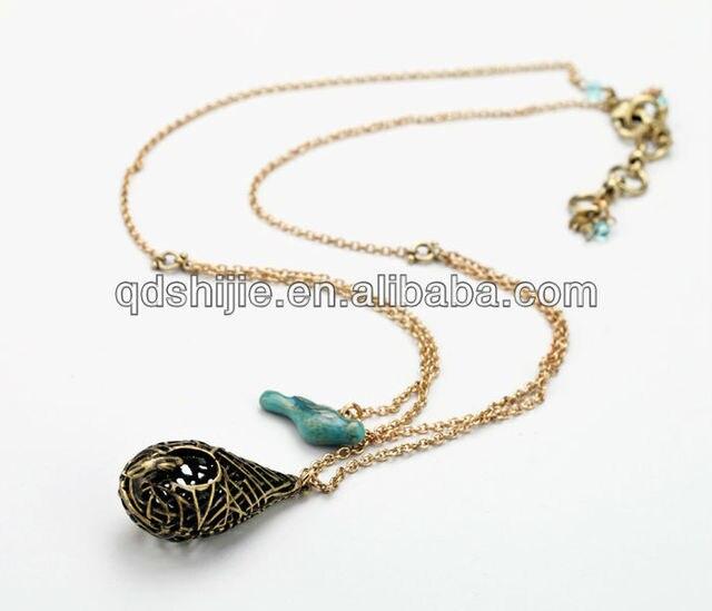 Fashion vintage birds nest pendant necklace in pendant necklaces fashion vintage birds nest pendant necklace aloadofball Choice Image