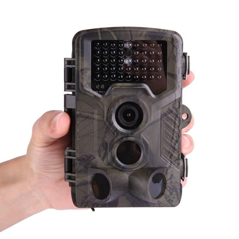 HC800A caméra de sentier de chasse 12MP 1080 P vidéo nuit sauvage Full HD Vision piège de caméra de surveillance infrarouge IR piège de caméra de sentier