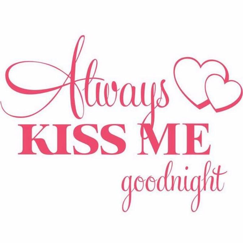 HTB1vwi5LpXXXXbzXFXXq6xXFXXXV - Romantic Mural Kiss Me Goodnight Love Vinyl Wall Sticker For Bedroom