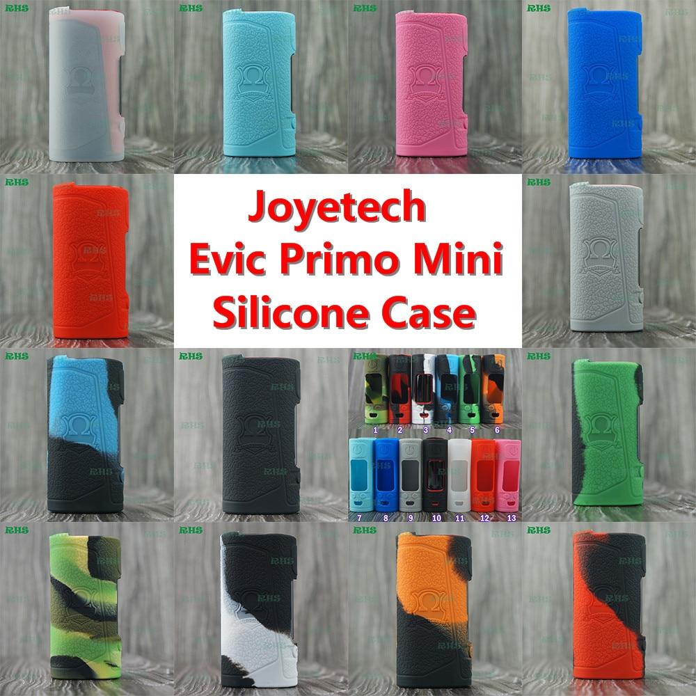 RHS silicona para 100% original joyetech evic primo kit 80 W con evic VTC mini kit con 13 hermosa colores envío libre