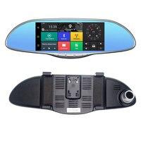 WI FI Bluetooth Автомобильный видеорегистратор Камера цифрового видео Регистраторы Универсальный Прочный рецензент зеркало Регистраторы электр