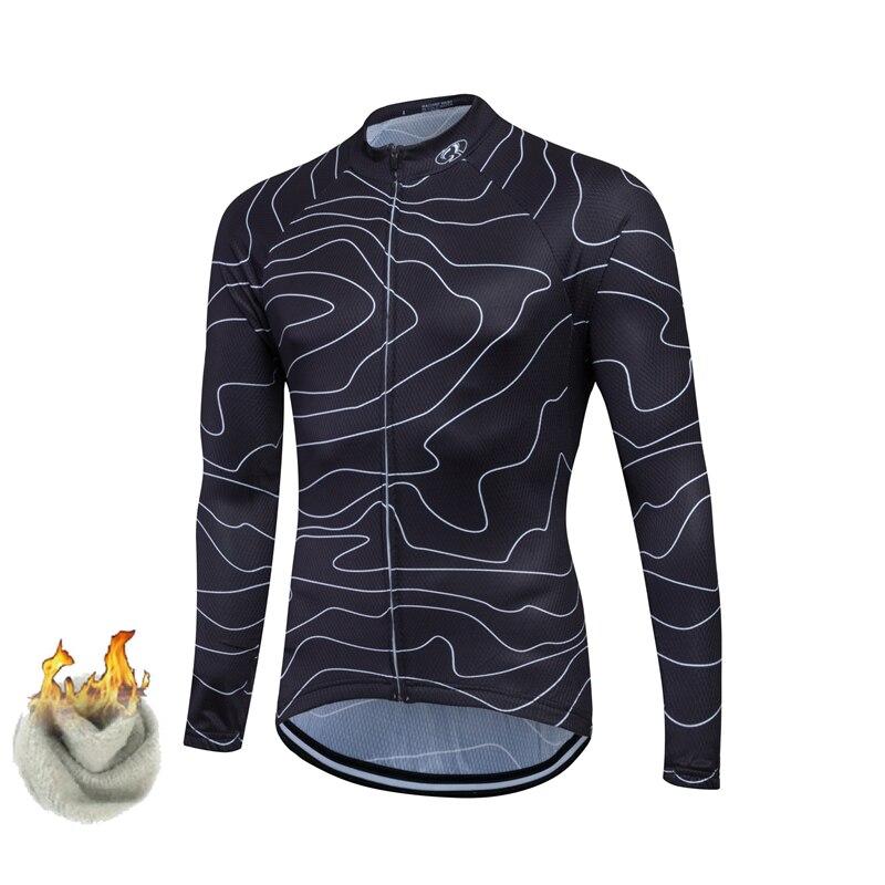 Prix pour FASTCUTE Hiver Thermique En Laine Polaire Vélo Clothing/Vélo Maillots ropa ciclismo hombre/Rock Racing Vélo Clothing