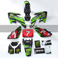 Dirt Pit Bikes 3m graphics Decals Sticker Kit + Plastic kit for XR50 CRF50 SSR SDG Free shipping