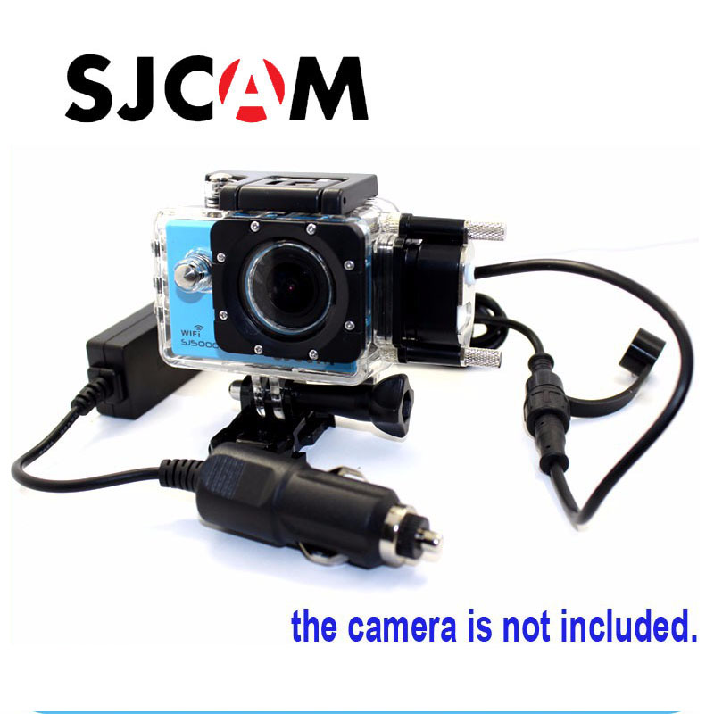 лучшая цена Free shipping!!Original Motocycle Waterproof Case Motorbile housing for SJCAM SJ5000 SJ5000 WiFi SJ5000 plus