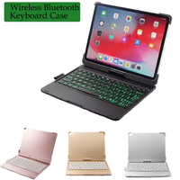 Smart Tablet Wireless Bluetooth Keyboard Case NEW Ultra thin for Case For iPad Pro 11 Cover 360 Rotatio Bluetooth Keyboard Cover