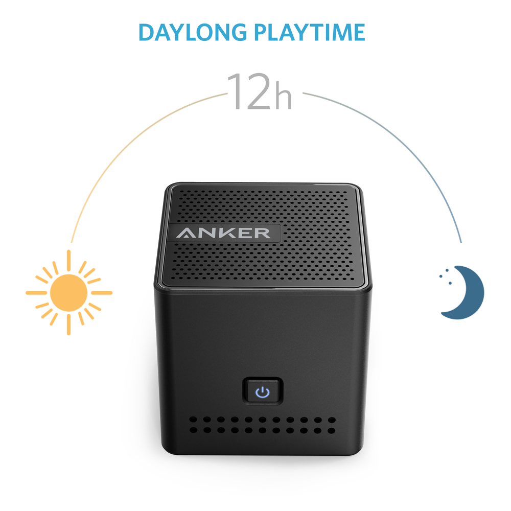 Anker Ultra Portable Bluetooth Speaker With 12 Hour Playtime And NFC Compatibility