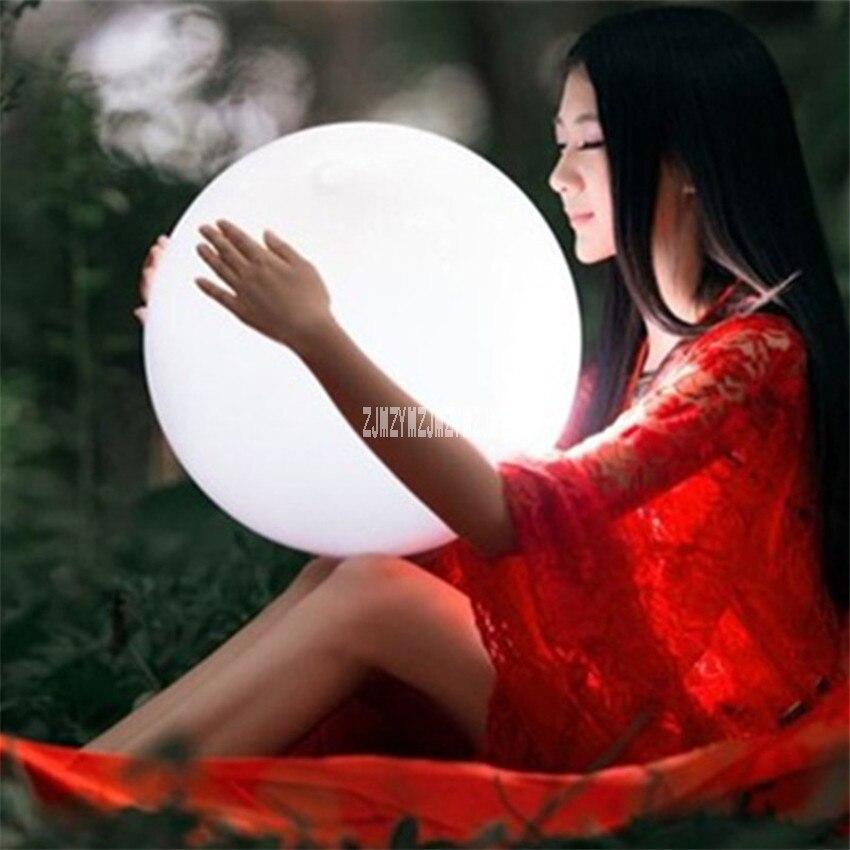 4 шт./лот 20 см зарядки Дистанционное управление LED подсветкой мяч Бассейны плавающий ш ...