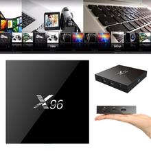 Intelligent Android 6.0 TV Box Quad X96 T6 V88 Rockchip 4 K 1G + 8G 2 K WiFi Pleine Charge Quad Core Films 1.5 GHZ Set Top Box Media lecteur