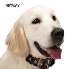 Hidden pet gps tracker with collar no SIM card IPX7 High Quality Leather Collar Tracker for Pets dog GPS tracker