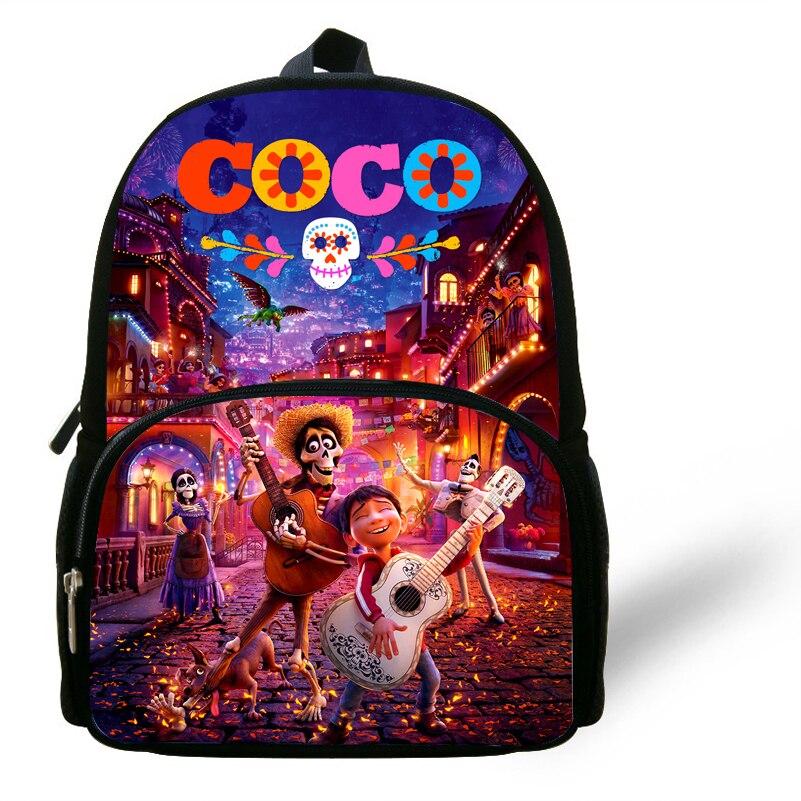 12 Zoll Kinder Cartoon Film Coco Rucksack Mädchen Komödie Coco Miguel Schule Taschen Geschenk Jungen Kleinkind Mochilas Escolares Infantis