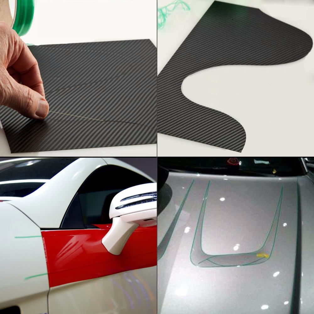 Image 2 - EHDIS 50M Vinyl Wrap Knifeless Tape Design Line Car Sticker Decal Cutting Tape Carbon Foil Film Cut Tool Auto Cutter Accessories-in Car Stickers from Automobiles & Motorcycles