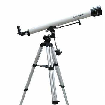 Visionking 900/ 60mm Refractor Astronomy Telescope Equatorial Mount Sky Planet Professional Monocular Astronomical Telescope