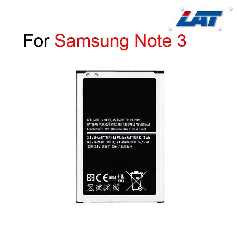B800BC Nouveau 3200 mAh 3.8 V Li-ion Batterie Interne de Remplacement pour Samsung Galaxy Note 3 SIII N9000 N9005 N9008