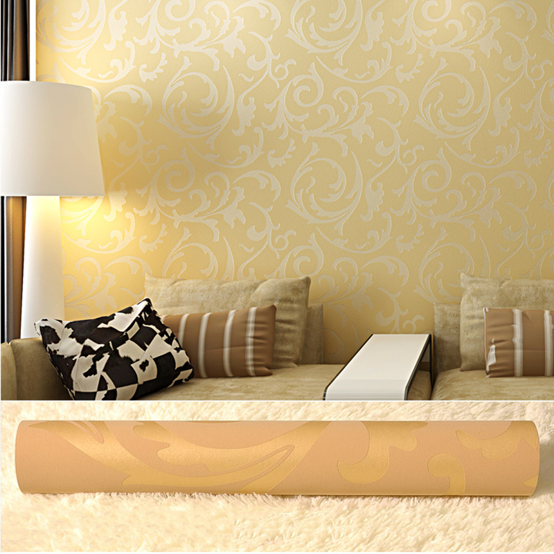 Environmentally Nonwoven Luxury Modern Wallpaper For Walls 3 D Bedroom Living Room Sofa Tv Background Stripes Wall Paper Rolls