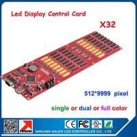 kaler China Manufacturer Kaler led display card X32 512*9999 pixel LED control asynchronous led sing message control card