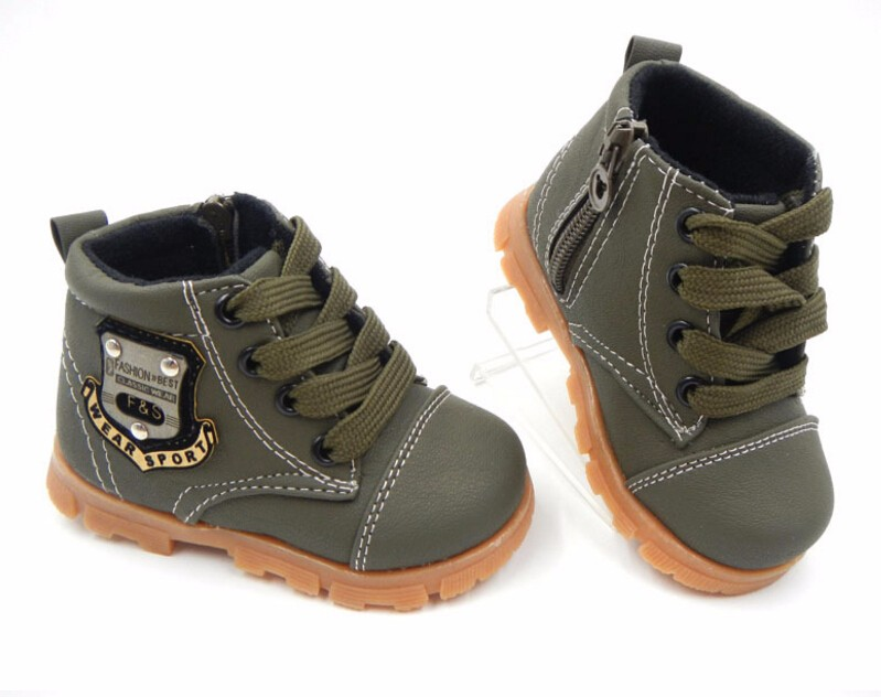16 autumn children sport shoes boys chaussure baby girls short boots for kids sneakers child Ankle casual martin shoes 19