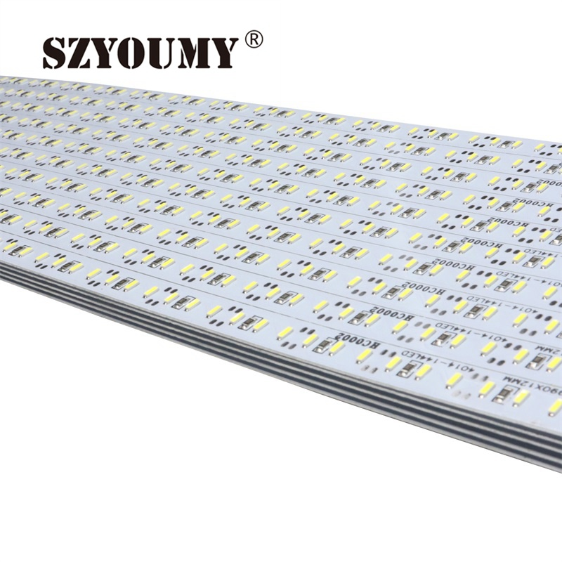 Image 5 - SZYOUMY 50pcs NEW DC 12V White warm 100cm 144leds 1m Non waterproof 4014 SMD Super Beautiful Rigid LED Strip Light Bar-in LED Bar Lights from Lights & Lighting
