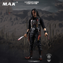 цена на Collectible 12'' Full Set Action Figure 1/6 Gangsters Kingdom Diamond 3 Juarez The Butcher Knife Comic Style Model Toys for Gift