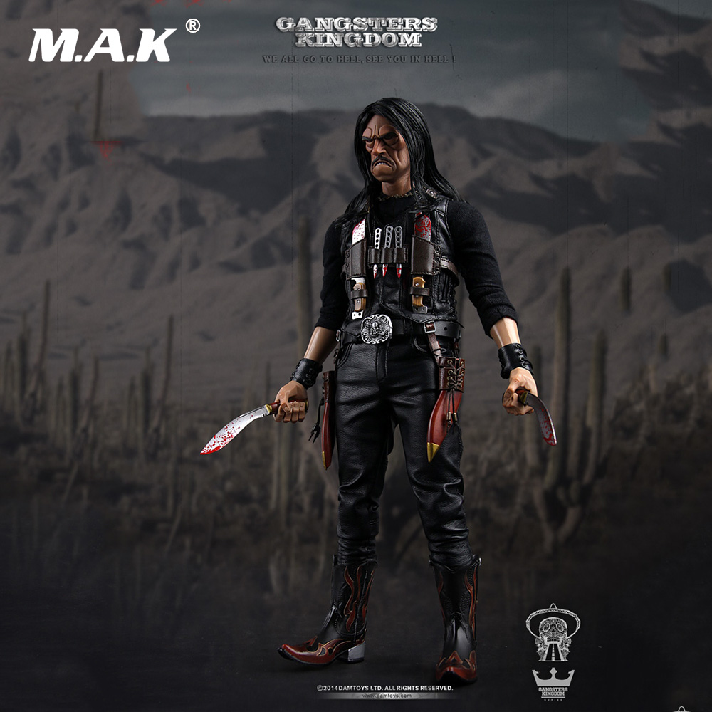 Collectible 12'' Full Set Action Figure 1/6 <font><b>Gangsters</b></font> <font><b>Kingdom</b></font> Diamond 3 Juarez The Butcher Knife Comic Style Model Toys for Gift image