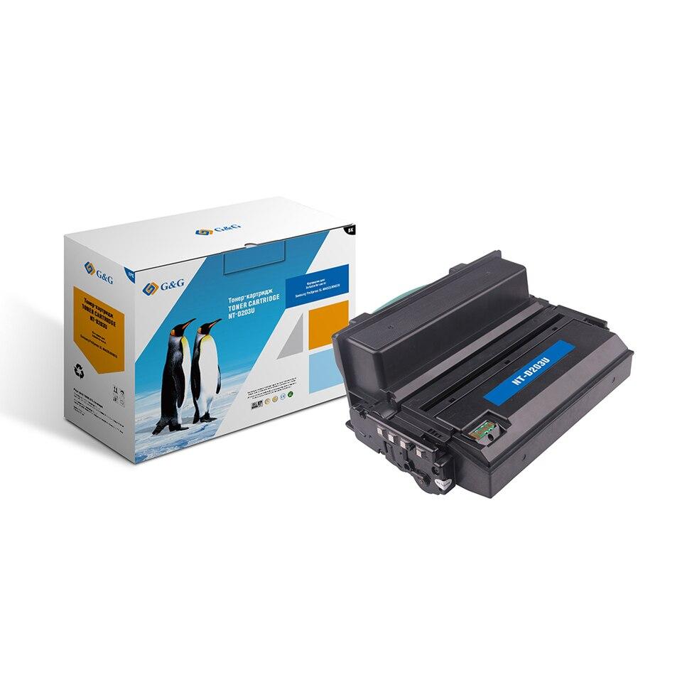 Купить со скидкой Тонер-картридж G&G NT-D203U для Samsung  ProXpress SL-M4020/M4070 (15000стр)