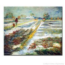 Landscape With Snow Vincent Van Gogh