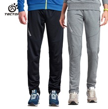 Running Pants Men Comfortable Pure Color Knit Outdoor Sport Pants Climbing Trekking Fishing Run Football Fitness Hiking Pant New