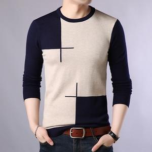 2020 Autumn Casual Men's Sweater O-Neck