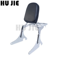 For Kawasaki Vulcan VN400 800 VN400 VN800 1995 2012 Motorcycle Chrome Backrest Sissy Bar with Luggage Rack 01 02 03 04 05 06 07