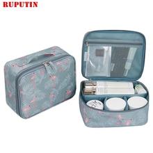 RUPUTIN 2018 New Womens Make up Bag Travel Cosmetic Organizer Cases Printed Multifunction Portable Toiletry Kits Makeup