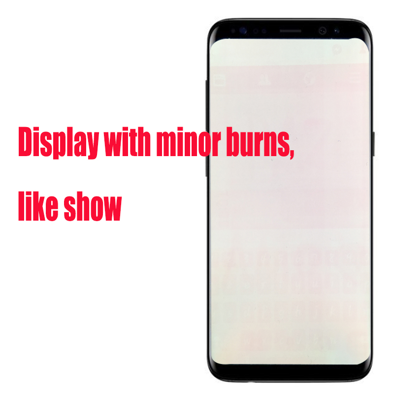HTB1vwmsaRSD3KVjSZFqq6A4bpXa7 Original LCD For Samsung Galaxy S8 Lcd Display S8 plus G950 G950F G955fd G955F G955 With Burn Shadow With Touch Screen Digitize