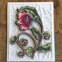 Eastshape Flower Clear Stamps and Dies Scrapbooking Blossom Vine for Craft Album Die Cut Card Making Metal Cutting New 2019