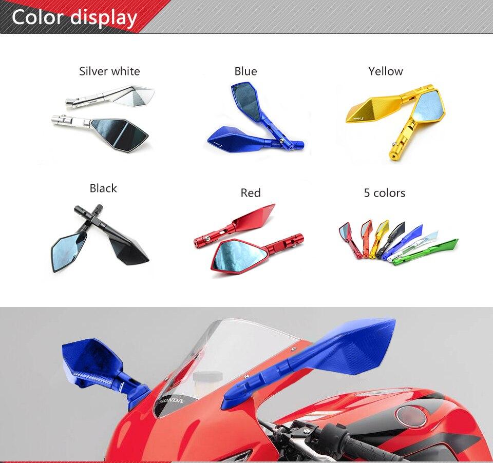 Motorcycle Mirrors motorbike moto CNC Rearview side Mirror Aluminum For BMW K1200R K1300 S/R/GT SPORT K1200S K1300R