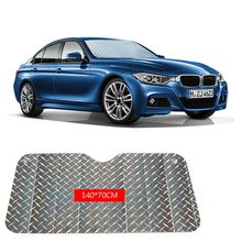 Casual Foldable Universal Car Windshield Visor Cover Front Rear Block Window Sun Shade Car Laser Shade New(China)