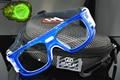 Marco azul gafas de Baloncesto de Fútbol Profesional Al Aire Libre gafas Deportivas Gafas partido ojo óptico lente miopía miopía