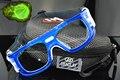 Quadro azul óculos Esportivos óculos de Futebol óculos de Basquete Ao Ar Livre Profissional jogo olho lente óptica miopia nearsighted