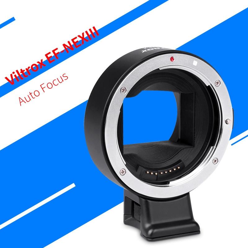 Viltrox EF-NEXIII Auto Focus Lens mount adapter for sony NEX E full-frame camera A7R/M/S2 A6300 to use canon EF/EF-S lens viltrox ef nexiii auto focus lens mount adapter for sony nex e full frame camera a7r m s2 a6300 to use canon ef ef s lens