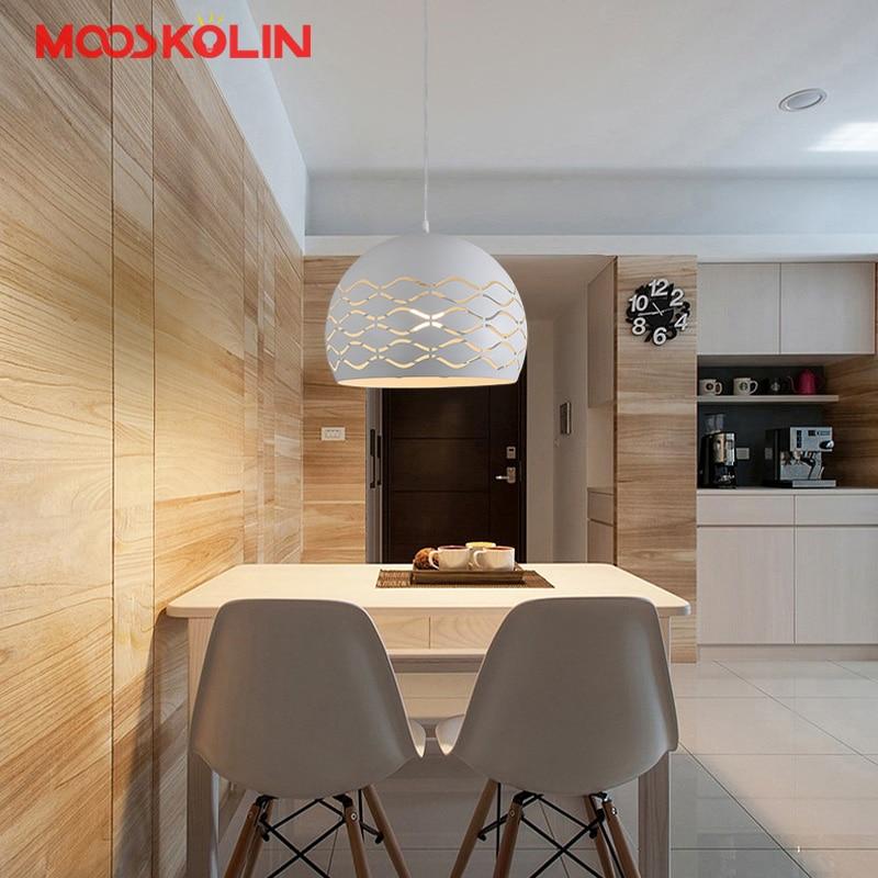 Lampe design nordique pendentif LED lumière salle à manger ...