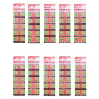 Wiele 100 sztuk AG4 GA4 SR626 376 377 565 D377 LR626 LR66 SR66 1 55V alkaliczne bateria guzikowa ogniwo monety na baterie do zegarków zabawka pilot zdalnego tanie i dobre opinie