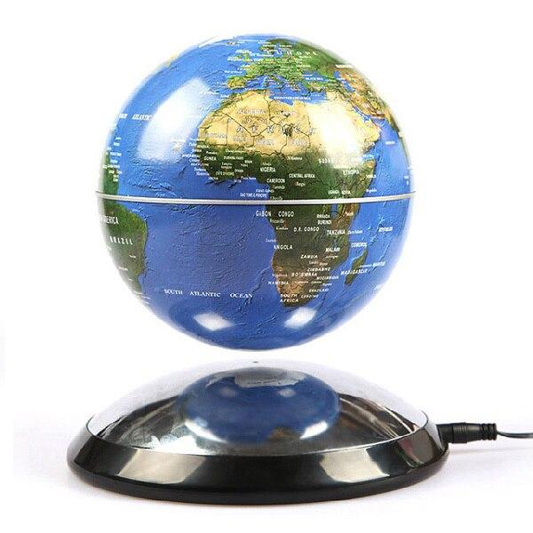 free shipping magnetic levitation floating globe world. Black Bedroom Furniture Sets. Home Design Ideas