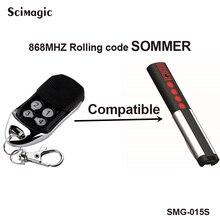 Henderson Sommer Vermelho Levou 4026 868 mhz Controle Remoto Da Porta Da Garagem Portão Fob Transmissor frete grátis