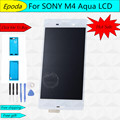 Для Sony Xperia M4 Aqua E2303 E2353 E2333 ЖК-Дисплей С Сенсорным Экраном Замена Digitizer Ассамблеи + Инструмент + Клей, бесплатная Доставка