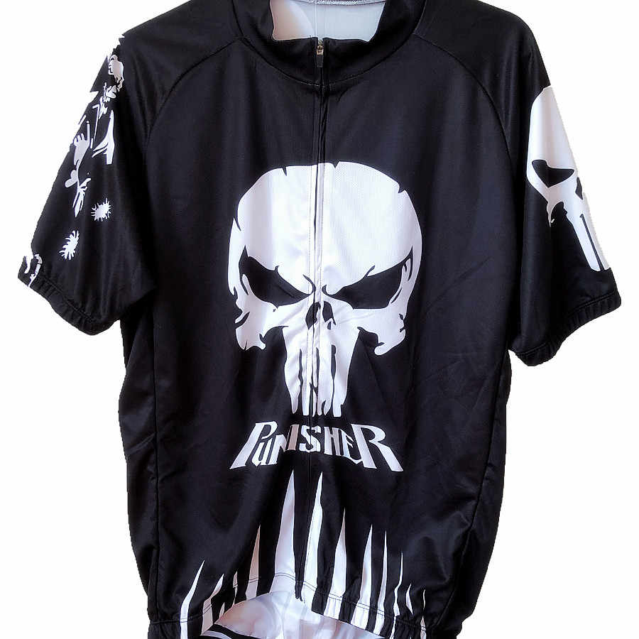 """Mens /""""Punisher/"""" Cycling Jersey"""