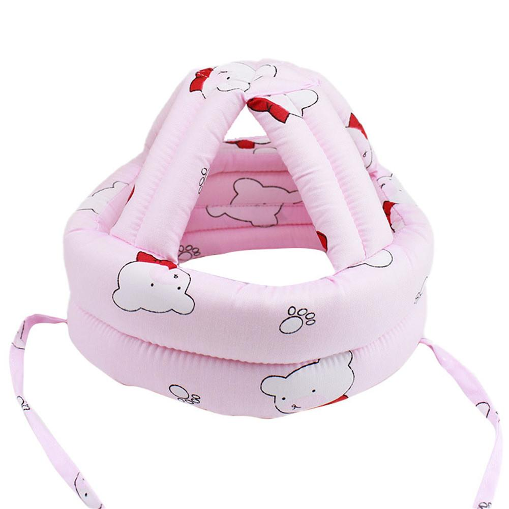 Hats & Caps Toddler Walking Play Head Protect No Bumps Helmet Headguard Adjustable Baby Kids Safety Head Protector (China)