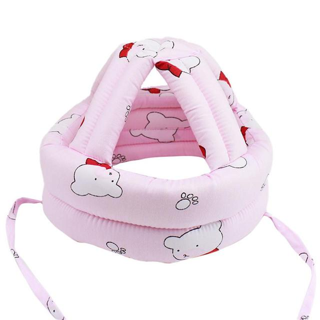af174b976eb83 Hats   Caps Toddler Walking Play Head Protect No Bumps Helmet Headguard  Adjustable Baby Kids Safety Head Protector